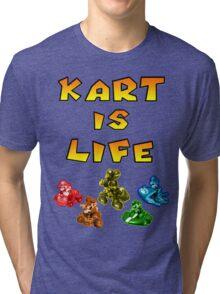 Kart is Life Tri-blend T-Shirt
