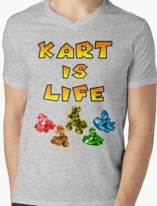 Kart is Life Mens V-Neck T-Shirt