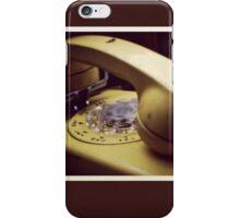 Rotary Phone iPhone Case/Skin