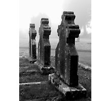 The Churchyard Guardians Photographic Print