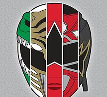 Tommy Oliver - 5x Ranger by AtomicDesignUS