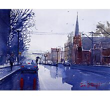 Wet Day in Bathurst, NSW Photographic Print