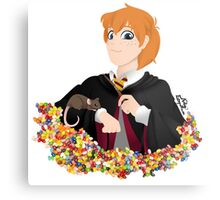 No-lined Ron Weasley Metal Print