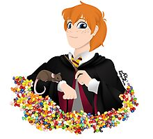 No-lined Ron Weasley Photographic Print