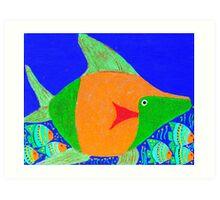 Coral Fish 3 Art Print