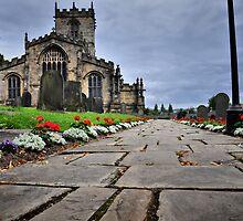 Church path by Mike Higgins