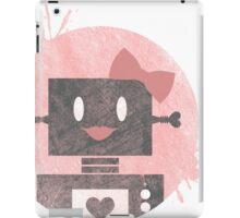 Lady Robot iPad Case/Skin