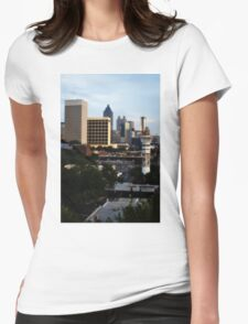 Atlanta - Capital of The South Womens Fitted T-Shirt