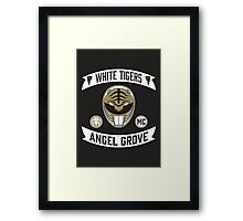 Angel Grove Motorcycle Club (White Tigers) Framed Print