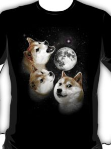 Three Doge Moon T-Shirt