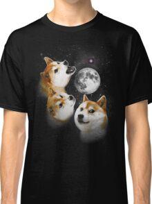 Three Doge Moon Classic T-Shirt