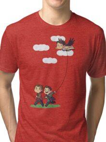 Team Free Kite Flying Tri-blend T-Shirt