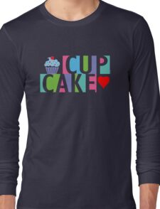Cupcake love pink 4 Long Sleeve T-Shirt
