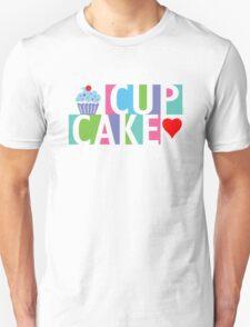 Cupcake love pink 4 Unisex T-Shirt