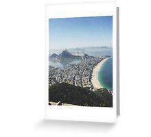 Let me take you to Rio Greeting Card
