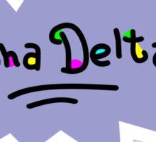 Alpha Delta Pi Rugrats Sticker