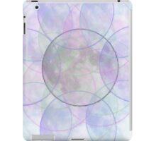 Chalky Moon Circles iPad Case/Skin