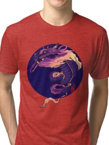 Cotton Candy Dragon Tri-blend T-Shirt