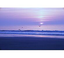 Blue Glory Photographic Print