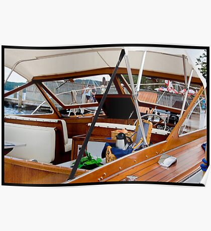 Antique Boat Show - Meredith New Hampshire Poster