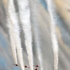 Red Arrows by tarantella