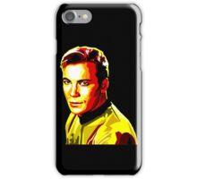 Retro James T Kirk iPhone Case/Skin