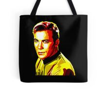 Retro James T Kirk Tote Bag