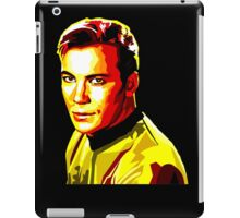 Retro James T Kirk iPad Case/Skin