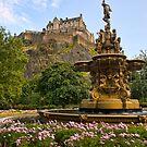 Edinburgh Castle by Claire Tennant