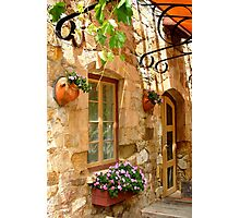 A quiet courtyard Photographic Print