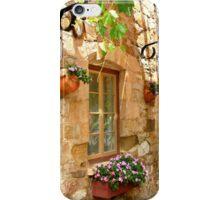 A quiet courtyard iPhone Case/Skin