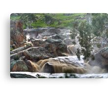 Mannum Waterfalls Metal Print