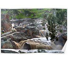 Mannum Waterfalls Poster