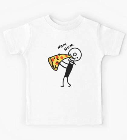 Hungry Pizza Cutter Kids Tee