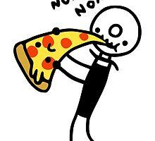 Hungry Pizza Cutter by obinsun