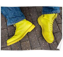 Yellow Docs and Blue Jeans (magic moment) Poster