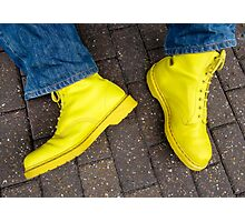 Yellow Docs and Blue Jeans (magic moment) Photographic Print