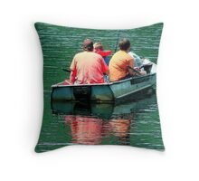 The Last of It Throw Pillow