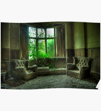 Potters Manor House - sitting room Poster