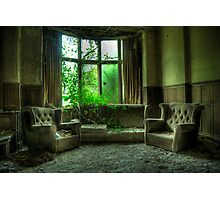 Potters Manor House - sitting room Photographic Print