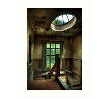 Potters Manor House - landing Art Print
