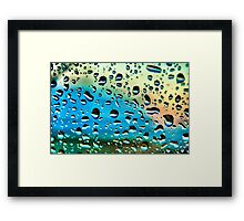 Windscreen Water Framed Print