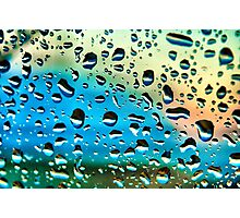 Windscreen Water Photographic Print