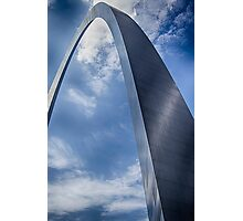 Blue Skies Above Photographic Print