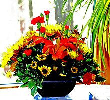 A Bouquet of Thanksgiving Wishes by MotherNature2