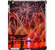 Epcot Fireworks - Illuminations Reflections of Earth iPad Case/Skin