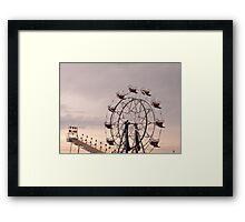 Fair Rides Framed Print