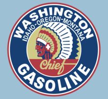 Washington Chief Gasoline Shirt One Piece - Short Sleeve