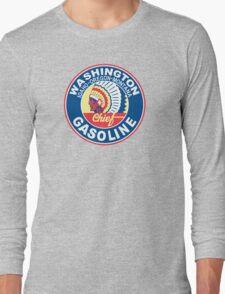 Washington Chief Gasoline Shirt Long Sleeve T-Shirt