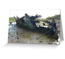 Fleetwood Wrecks . Greeting Card